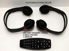 Factory GM Wireless Headphones (TWO) ~See Chart for compatible cars Year & Model