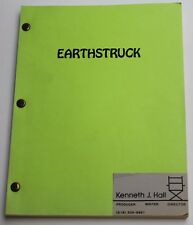 Earthstruck * Unproduced Movie Script, by Puppetmaster Writer Kenneth J. Hall