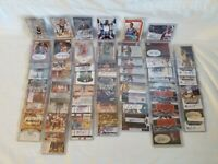 1990's-00's NBA Autographed Card Huge Lot (62) RPA's RC Veterans Serial #'s +++