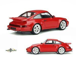 964 Porsche Turbo S Flachbau guards red 1994 1:18 GT Spirit GT328