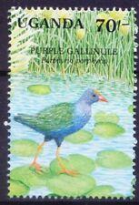 Uganda 1991 MNH Wetlands Birds, African Swamphen - C21