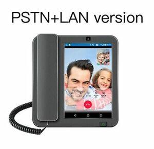 Smart LTE 4G Fixed Wireless Landline Videophone Android 8.1 SIM Network Glob