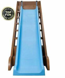 Kids Indoor Outdoor Slide Stairs All Weather Fun Toddler Playground Equipment
