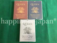 Queen Greatest Vidéo Collection Édition Spéciale 1 2 3 DVD 6 Disque Press Set F/