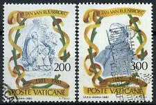 Vatican City 1981 SG#765-6 Jan Van Ruusbroec Used Set  #D14915