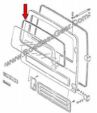 Rear Window Weatherstrip / Seal for Suzuki Samurai Tin Top {84623-80100}