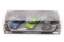 Lamborghini Urus, Huracan & Aventador Set of 3, Scale 1:43, car gift boy