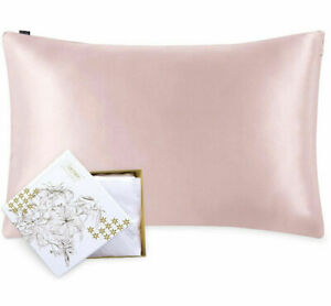 """100% Mulberry Silk Pillowcase for Hair and Skin Both Sides Silk Pillow - 20""""x26"""""""