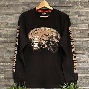 Harley Davidson Long Sleeve Logo T-shirt