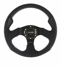 Momo Jet 350mm Black Leather Steering Wheel GENUINE