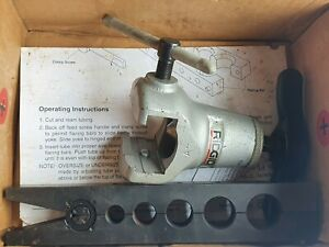 "RIDGID No.455 Flare Flaring Tool 1/2"" - 1"" Tubing  45°SAE Heavy Duty Ratcheting"