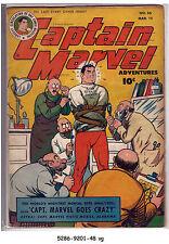Captain Marvel Adventures #56 (Mar 1946, Fawcett) vg
