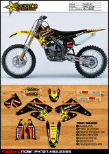 2004-2006  SUZUKI RMZ 250 Rockstar Motocross Graphics Dirt Bike Graphics Kit