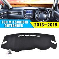 Dashboard Cover Dashmat Dash Mat Carpet Pad For Mitsubishi Outlander 2013-2018