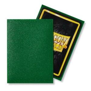 Dragon Shield Matte Standard Size Acid Free Trading Card Sleeves 100pk Emerald