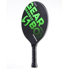 """Gearbox Classic 275 Paddleball paddle Black/Green 3 5/8"""" Small grip (275 grams)"""