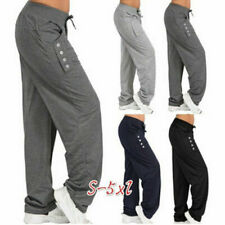 Womens Ladies Joggers Trousers Tracksuit Bottoms Casual Wear Jogging Gym Pants