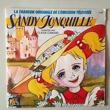 DISQUE 45T SERIE TV SANDY JONQUILLE // CLAUDE LOMBARD