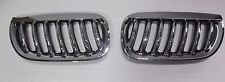BMW E83 X3 SUV 2004-2006 Front Kidney Grill Chrome & Black Grille