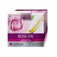 AGIVA NATURAL Intensive Anti-wrinkle Night Cream ROSES, Argan & Rose Oil, 30ml