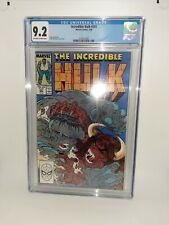 Marvel Incredible Hulk #341 Cgc 9.2 McFarlane Cover + Art 1988 FREE SHIPPING