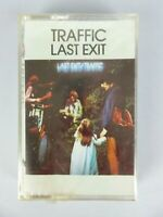 Vintage NEW 1969 Traffic Last Exit Cassette Tape Sealed Psychedelic Rock