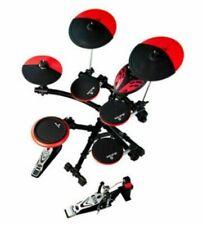 8 Pcs Electronic Lite Drums Set Db6 Digital Display Durable Handroll Drumsticks