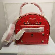 Kate spade bolso Cartera Bolso de mano de buzón de correo el tuyo realmente Nuevo Con Etiquetas Rojo Oro Mango Extra