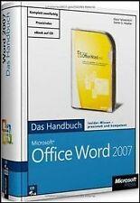 Microsoft Office Word 2007 - Das Handbuch: Insider-Wisse... | Buch | Zustand gut