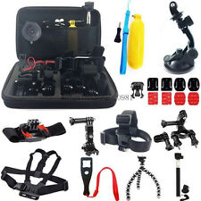 Accessories kit Head Chest Mount Floating Monopod For GoPro 1 2 3 4 Camera