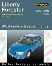 Subaru Outback 1998-2006 Workshop Repair Manual witn MPN GAP05530