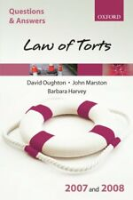 Q&A: Law of Torts 2007 and 2008,David Oughton, John Marston, Barbara Harvey