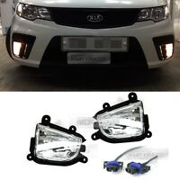 OEM Genuine Fog Light Lamp sets with wires for KIA 2010-2013 Cerato Forte Koup