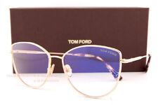 Brand New Tom Ford Eyeglass Frames FT 5667-B 028 Gold For Women Size 55mm