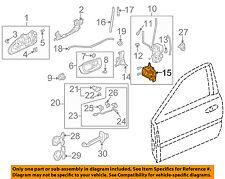 ACURA HONDA OEM Front Door-Lock Actuator 72115S84A11
