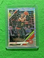ALEX LEN PRIZM SILVER WAVE CARD ATLANTA HAWKS 2019-20 DONURSS OPTIC BASKETBALL