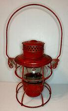 Adlake Kero Railroad Lantern Vintage Lantern with Embossed Glass