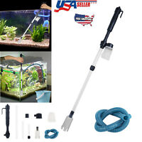 Electric Gravel Cleaner Aquarium Fish Tank Automatic Siphon Vacuum Water Change