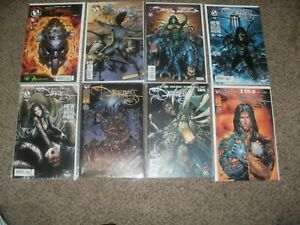 LOT OF 19 THE DARKNESS 1 3 6 7 8 9 10 W/ 3 VARIANTS - WITCHBLADE