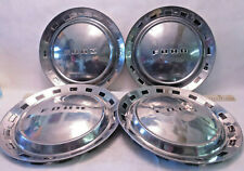 SET OF 4 1950's FORD GALAXIE - THUNDERBIRD - FAIRLANE - HUBCAPS - NICE - F3