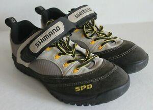 SHIMANO SPD Women's Suede Bike Shoes Cycling Clip Sneaker US7.5 EU41
