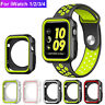 For Apple Watch Series 3/4 40/44mm Shockproof Silicone Rubber Bumper Case Cover