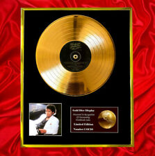More details for michael jackson thriller cd gold disc vinyl record  free shipping to u.k.
