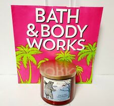 BATH & BODY WORKS FROSTED CRANBERRY SCENTED 3-WICK CANDLE 14.5 Oz, NEW
