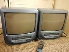 TVs With Built In Vhs (selling as a pair-1 remote)