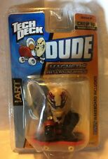 Tech Deck Dude  Art #79 Magnetic Feet And Rolling Wheels New Sealed