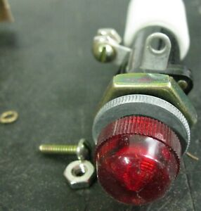 GE ET-16 Indicator Light, Red 0116B6708G-44R53