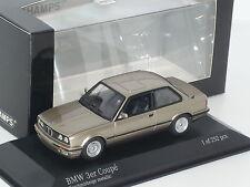 New 1:43 Minichamps 1989 BMW 3 Series 2 door E30 gold 316i 318i 320i 325i 323i