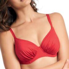 Fantasie Swimwear Versailles Gathered Full Cup Bikini Top Fire Red 5749