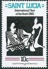 SAINT LUCIA - 1985 - International Youth Year - MNH Stamp - Sc. #791